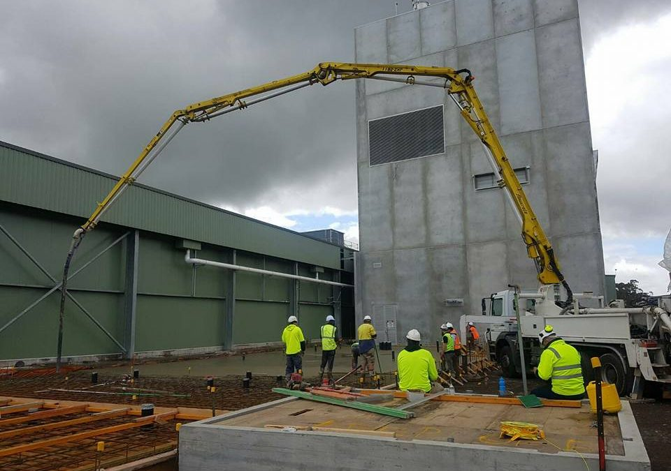 Concrete Pumping in Mount Gambier