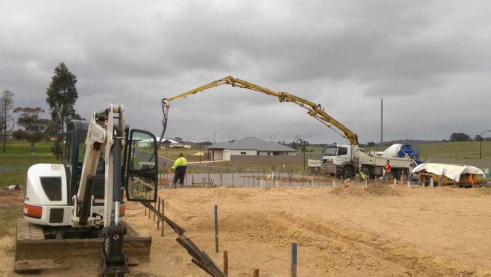 commercial concreting